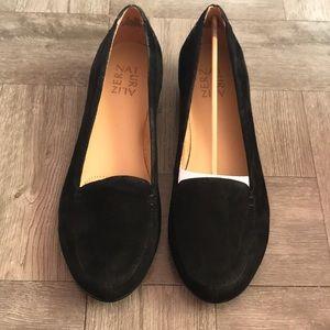 Saban Suede Loafer in Black